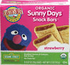 Organic Sunny Days Strawberry Snack Bars