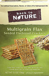 Multigrain Flax Seeded Flatbread Crackers
