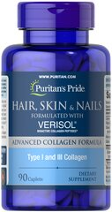 Hair, Skin and Nails formulated with VERISOL®