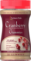 Cranberry Fruit Concentrate Gummies