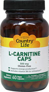 L-Carnitine 500 mg w/ Vitamin B-6 10 mg