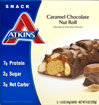 Atkins Caramel Chocolate Nut Roll Bars
