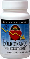 Policosanol with Coenzyme Q10