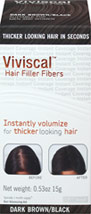 Hair Filler Fibers - Dark Brown/Black
