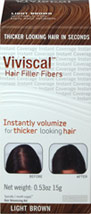 Hair Filler Fiber - Light Brown
