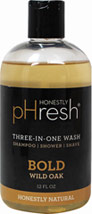 3-in-1 Wash for Men Bold Wild Oak