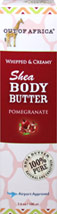 Pomegranate Shea Body Butter