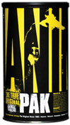 Animal Pak <p><b>From the Manufacturer's Label:</b></p> <p>Animal Pak is manufactured by Universal Nutrition.</p> 44 Packs  $27.99