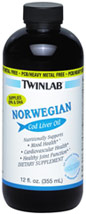 Norwegian Cod Liver Oil Unflavored