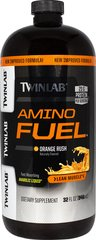 Amino Fuel® <p><strong>From the Manufacturer's Label: </strong></p><p>THE SCIENCE BEHIND THE SIZE:</p><p><strong>Product: </strong>A fast absorbing liquid amino acid that has, per serving, 15 grams (15,000 mg) of high quality branched chain, peptide-bonded, and free amino acids; stress B-complex vitamins; energizing complex carbohydrates; and pure crystalline fructose.**</p><p><strong>Result:</strong> Protein
