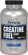 Mega Creatine Fuel  <p><b>From the Manufacturer's Label:</b></p> <p>Mega Creatine Fuel is manufactured by Twinlab.</p> 120 Capsules  $13.85
