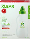 Natural Saline Sinus Care Rinse Bottle plus Xlear® Sinus Care Solution