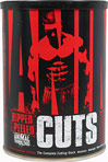 "Animal Cuts <p><strong>From the Manufacturer's Label:</strong></p>WHAT ANIMAL CUTS® IS:   Ripped & peeled. That's what Animal Cuts is all about. When you want to get shredded, a plain old ""fat burner�� won't do. Well Animal Cuts ain't a fat burner. It ain't a thermogenic. It ain't a diuretic. Or a metabolic... It's all of these wrapped up into one. Having onion-thin skin is not about just getting rid of the fat, it's also the water. Water is what'll keep y"