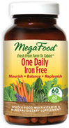 One Daily Iron Free Whole Food Multivitamin & Mineral Supplement