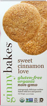 Organic Sweet Cinnamon Love Cookies