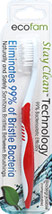 Stay Clean Adult Toothbrush Red