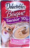 Senior Cat Tuna & Chicken Bisque Lickable Treat