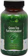 Green Tea Metabolizer <p><strong> From the Manufacturer's label:</strong></p><p>Green Tea Fat Metabolizer contains a highly concentrated form of green tea extract with a powerful blend of naturl herbal boosters and nutrients**</p><p>Manufactured by Irwin Naturals</p> 75 Capsules  $16.13