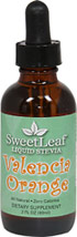 Stevia Liquid Extract Valencia Orange <p><b>From the Manufacturer's Label:</b></p> <p>Stevia Liquid Valencia Orange is manufactured by Sweet Leaf.</p> 2 oz Liquid  $10.99