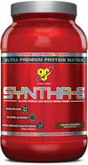 Syntha-6 Chocolate <p><b>From the Manufacturer's Label: </p></b><p>Designed for individuals who want an ultra-premium protein powder that will help them reach their nutritional and physical goals. These products are free of aspartame and are available in the following flavors: Chocolate, Vanilla, Strawberry Chocolate Peanut Butter, Cookies & Cream and Mochaccino.</p> <p>Manufactured by BSN®.</p> 2.91 lbs Powder  $29.99