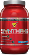 Syntha-6 Vanilla <p><b>From the Manufacturer's Label: </p></b><p>Designed for individuals who want an ultra-premium protein powder that will help them reach their nutritional and physical goals. These products are free of aspartame and are available in the following flavors: Chocolate, Vanilla, Strawberry Chocolate Peanut Butter, Cookies & Cream and Mochaccino.</p> <p>Manufactured by BSN®.</p> 2.91 lb Powder  $29.99