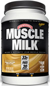 Muscle Milk® Peanut Butter Chocolate <p><b>From the Manufacturer's Label:</b></p> <p>Muscle Milk® is manufactured by Cytosport.</p><p>Available in Cookies N Crème, Strawberry Banana, Peanut Butter Chocolate, Strawberries N Crème, Blueberries N Crème, Chocolate Banana Crunch, Peach Mango, Chocolate & Vanilla Creme flavors.</p> 2.47 lbs Powder  $23.99