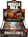 Muscle Milk® Bars Chocolate Peanut Caramel <p><b>From the Manufacturer's Label: </p></b><p>25g Protein</p> <p>Lactose-Free</p> <p>0g Trans Fat</p>  <p>Muscle Milk® Bars are loaded with 25 grams or muscle-sustaining protein to keep your body going and growing throughout your busy day.** These Muscle Milk® Bars are packed with protein and the same sustained energy as Muscle Milk powders and drinks but in great-tas