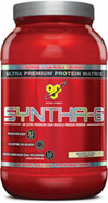 Syntha-6 Cookies & Crème <p><b>From the Manufacturer's Label: </p></b><p>Designed for individuals who want an ultra-premium protein powder that will help them reach their nutritional and physical goals. These products are free of aspartame and are available in the following flavors: Chocolate, Vanilla, Strawberry Chocolate Peanut Butter, Cookies & Cream and Mochaccino.</p> <p>Manufactured by BSN®.</p> 2.91 lb Powder  $29.99