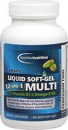 Men's Liquid Softgel 12 in 1 Multi <p><b>From the Manufacturer's Label:</b></p> <p>Men's Liquid Multi Softgel is manufactured by Applied Nutrition.</p> 60 Softgels  $9.99