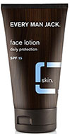Every Man Jack® Face Lotion Fragrance Free SPF 15 <p><b>From the Manufacturer's Label:</b></p>  <p><b>SPF 15 UVA and UVB Sun Protection</b></p> <p><b>Fragrance Free</b></p> <p><b>Dermatologist Approved</b></p>  <p>WILL THIS MAKE ME LESS IRRITATING? If you're talking about your skin, then absolutely. This light, non-greasy formula will deeply hydrate and help with dry or razor-irritated skin