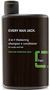Every Man Jack® Tea Tree 2-In-1 Thickening Shampoo