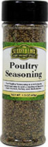 Poultry Seasoning <p>Surrey & Loeb's new house brand of poultry seasoning is a perfect combination of flavors to add to your chicken dishes.</p> 1.3 oz Bottle  $4.99