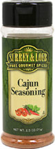 Cajun Seasoning  <p>Give your meals an authentic Cajun flair, with our new Surrey & Loeb house branded Cajun Seasoning.</p> 3.5 oz Bottle  $5.99