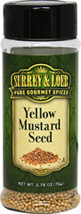 Mustard Seed Yellow <p>Mustard seed, one of the oldest of spices, adds warmth and heat to your dishes. It's spicy, peppery flavor goes well with other spices like garlic and chili powder. </p> 2.78 oz Powder  $4.24