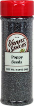 Blue Poppy  <p>Surrey & Loeb's new house brand of poppy seeds are radiant in their blue-gray color, with a mild nutty flavor and crunchy texture. They are a  welcome addition to breads, cookies, cakes and more</p> 1.9 oz Bottle  $4.24