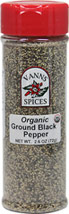 Organic Ground Black Pepper