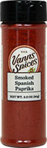 Smoked Spanish Paprika <b><p> From the Manufacturer:</b></p> <p>Made from the peppers that are dried slowly for several weeks over an oak fire, this special seasoning is a must for authentic paella.</p>  2.3 oz Other  $8.99
