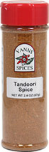 Tandoori Seasoning <b><p> From the Manufacturer:</b></p> <p>Indian blend based upon a recipe predating the modern era. Take 1 Tablespoon of spice & yogurt, dash of lemon for a marinade for chicken, lamb or fish.</p> 2.4 oz Seasoning  $7.99
