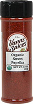 Organic Sweet Paprika <b><p> From the Manufacturer:</b></p> Only the sweetest of the Hungarian peppers are used to make the robust sweet paprika. You will find it rich in color and aromatic.  1.8 oz Other  $9.99