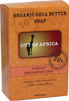 Out of Africa® Shea Butter Bar Soap Apricot Exfoliating <p><b>From the Manufacturer's Label:</b></p>  <p><b>20% Unrefined Shea Butter</b></p> <p><b>Shea Butter Hand Made in West Africa</b></p>  <p>All Shea Butters are not created equal:</p> <p>- Our products are made with 20% pure, unrefined Shea Butter that keeps all the moisture intact and are naturally rich in vitamins A, E and F. </p> <p&g