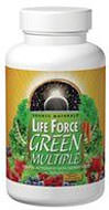LIFE FORCE GREEN MULTI TAB From the manufacturer's label: Source Natural's Life Force Green Multiple: Energy activator with superfoods<br /> 45  $9.99