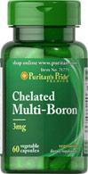 Multi-Boron 3 mg Chelate