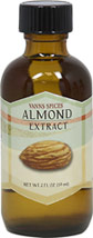 Almond Extract <strong></strong><p><strong>From the Manufacturer:</strong></p>Franciscan Padres from Spain brought the almond tree to California in the 1700s, and Americans have been enjoying the perks of Almond Extract ever since! Commonly used in baked goods, Almond Extract can give your recipes a distinctly sweet kick that's pure and flavorful. With Almond Extract, a little goes a long way – just a drop will do. Our Almond Extract contains bitter almond oil