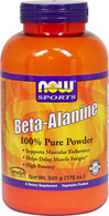 Beta-Alanine Powder <p><b>From the Manufacturer's Label:</b></p> <p><b>Supports Muscular Endurance**</b></p> <p><b>Helps Delay Muscle Fatigue**</b></p> <p><b>High Potency</b></p>  <p>Beta-Alanine is a non-essential amino acid that is used by muscle cells to synthesize Carnosine. Carnosine is a dipeptide (Beta-Alanine plus Histidine) that functions as a buffer for the hydrogen ions (acid) pro