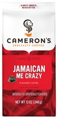 Jamaican Me Crazy Ground Coffee <p><b>From the Manufacturer's Label:</b></p> <p><b>Made from 100% Arabica Beans, Kosher</b></p>  <p><b>Flavor:</b> Caramel, vanilla and Mexican liqueor</p> <p><b>Freshness:</b> Exclusive packaging insures maximum freshness.</p> <p>Jamaican Me Crazy a perfect combination of caramel, vanillla and Mexican liqueor. Our Arabica beans are carefully selected from aro