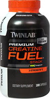 Creatine Fuel Stack <p><b>From the Manufacturer's Label:</b></p> <p>Creatine Fuel Stack is manufactured by Twinlab.</p> 180 Capsules  $14.99