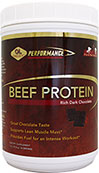 Beef Protein Chocolate <p><b>From the Manufacturer's Label:</b></p> <p>98% Protein</p> <p>Hormone Free</p> <p>High Bioavailability</p> <p>Supports Sugar Metabolism**</p> <p>Highly Soluble & Easy to Digest</p> <p>Increased Collagen Production**</p> <p>Great Tasting Chocolate Flavor!</p>  <p>Our unique purification and extraction process produces a protein that is highly solubl