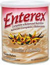Enterex Complete Nutrition Vanilla <p><b>From the Manufacturer's Label:</b></p> <p>Enterex Complete Nutrition is manufactured by Enterex.</p>  <p>Available in Strawberry and Vanilla flavors.</p> 400 g Powder  $7.99