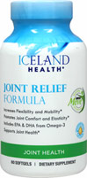 Joint Relief with Omega-3 <p><strong>From the Manufacturer's Label:</strong></p><p>Supports Joint Mobility and Flexibility** </p><p>Promotes Comfortable Joint Movement**</p><p>Helps with Joint Lubrication** </p><p>Iceland Health® Joint Relief contains 100% omega-3 combined with our customized Omega MOVE™ formulation for joint support.** </p><p>- Type II Collagen to support healthy joints and support range of m