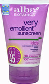 Kids Natural Emollient Sunscreen SPF 45